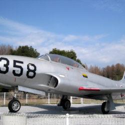 航空自衛隊の練習機T-33A
